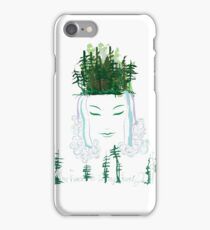 Goddess of the forest iPhone Case/Skin