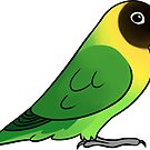 Lovebird Personatus by Mariewsart