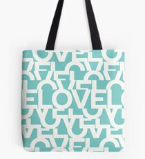 Hidden BLUE love message Tote Bag