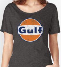 Gulf Racing Retro Women's Relaxed Fit T-Shirt