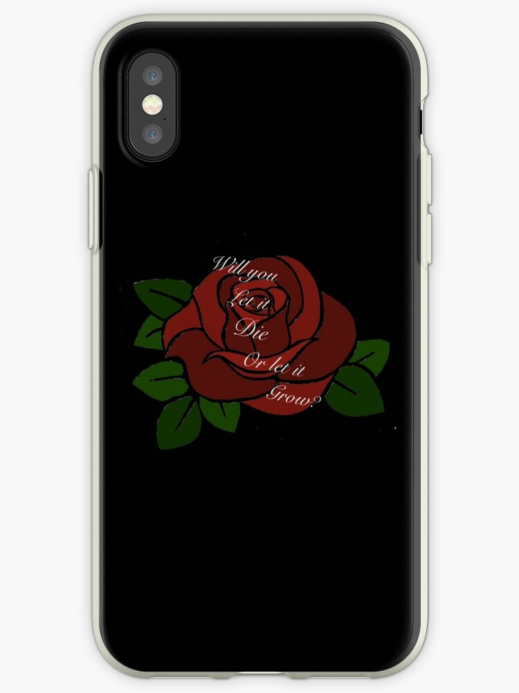 finest selection 3a779 8a3d4 'Shawn Mendes Roses' iPhone Case by Beginartist