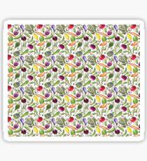 Watercolor Veggie Bonanza Sticker