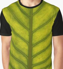 Tropical Leaf Graphic T-Shirt