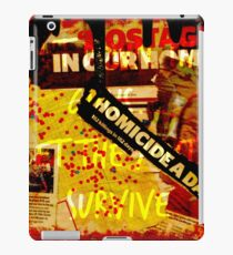 We Just Want To Live iPad Case/Skin