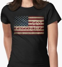 GOT FREEDOM? Women's Fitted T-Shirt