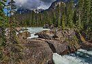 Natural Bridge in Yoho National Park, Alberta, Canada by Gerda Grice