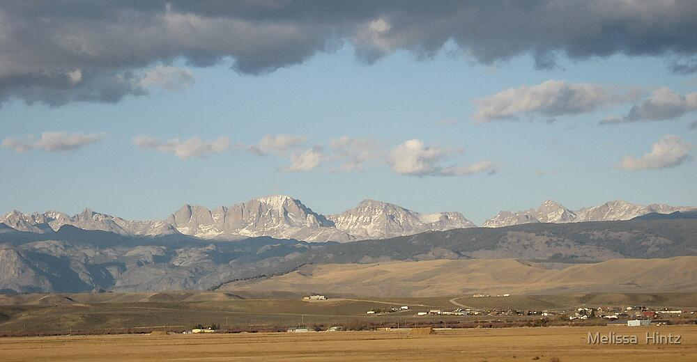 Mountains in Wyoming by Melissa  Hintz