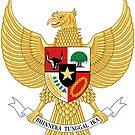 Indonesia Garuda Pancasila by Omar Dakhane