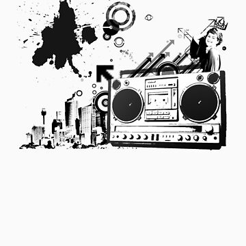 Boombox Ruckus by SuisseSilver