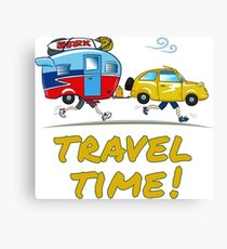 Travel time! Canvas Print