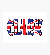 Clark (UK) Photographic Print