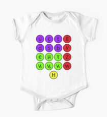Particle Physics- The Standard Model Kids Clothes
