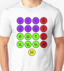 Particle Physics- The Standard Model Unisex T-Shirt