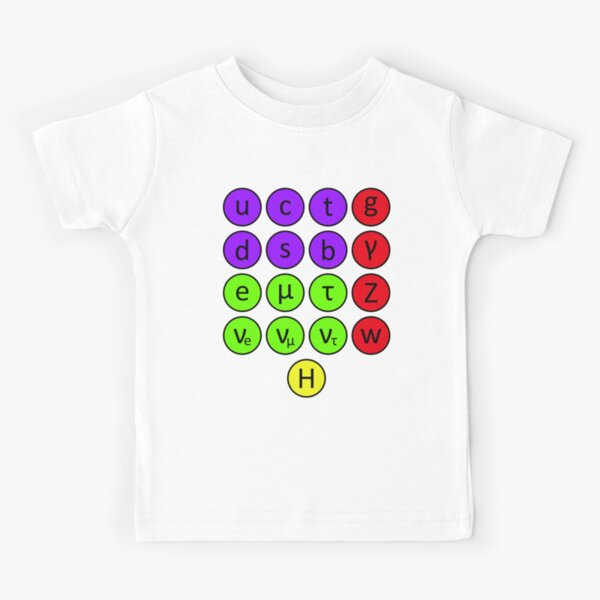 Particle Physics- The Standard Model Kids T-Shirt