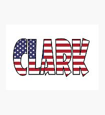 Clark (USA) Photographic Print