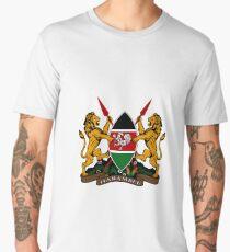 Coat of Arms (Kenya) Men's Premium T-Shirt