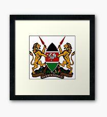 Coat of Arms (Kenya) Framed Print