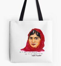 Malala Tote Bag