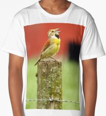 Singing a Country Song Long T-Shirt