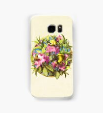 Flowers and Birds 1 Samsung Galaxy Case/Skin