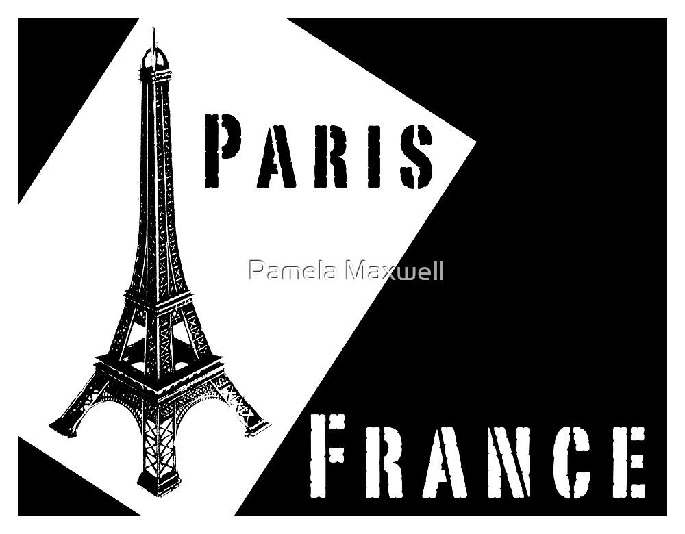 Paris, France by Pamela Maxwell