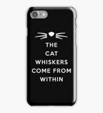 WHISKERS II iPhone Case/Skin