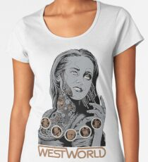Westworld Dolores Women's Premium T-Shirt