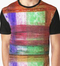 Three Figures Geometric Design Graphic T-Shirt