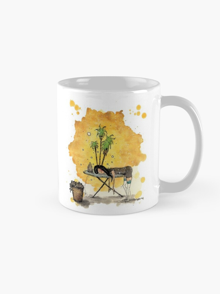 Alternate view of Wanderlust Mug