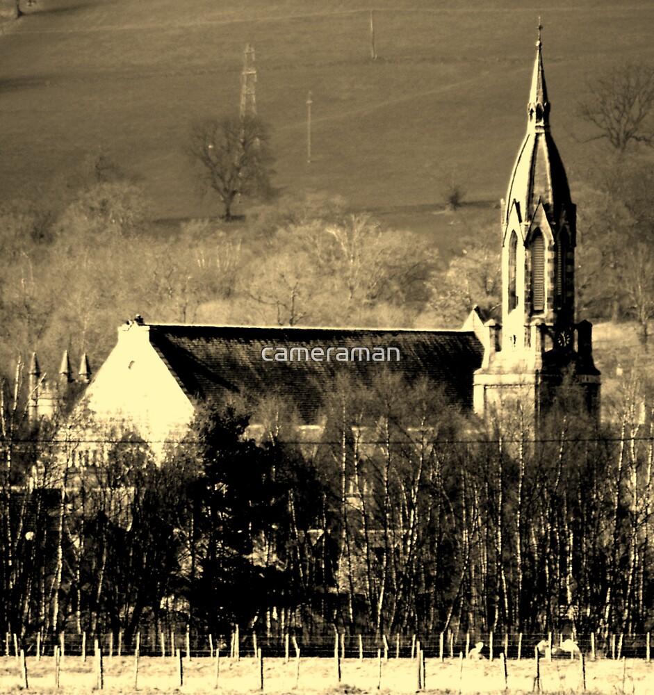 church by cameraman