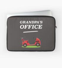 Grandpa's Office - Golf Cart Laptop Sleeve