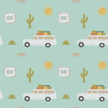 Road Trippin' in Mint by doodlebymeg