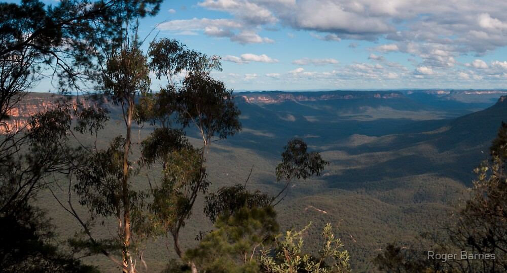 Sublime Point, Blue Mountains, NSW, Australia by Roger Barnes