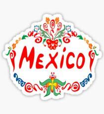 Mexico. Sticker