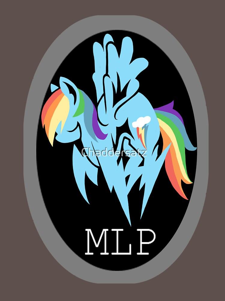Rainbow Dash/ Shadow Fox: MGS-MLP Crossover   Unisex T-Shirt