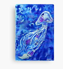 Tranquil Jellyfish  Canvas Print