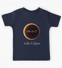 Total Solar Eclipse: 8-21-17 Astronomy Design Kids Clothes