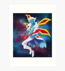 Spaceboy Presley Art Print