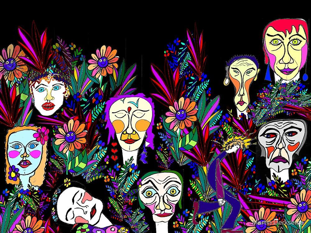 God's Garden by Martin Derksema