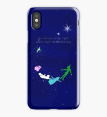 Second Star to the Right Quote iPhone Case/Skin