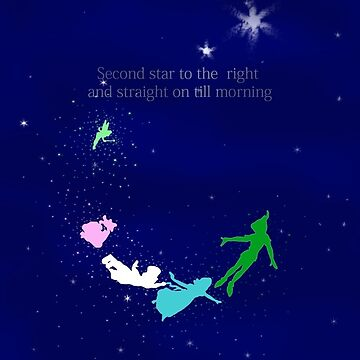Second Star to the Right Quote by MagicTypewriter