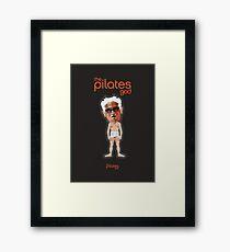 Joseph Pilates - The Pilates God Framed Print