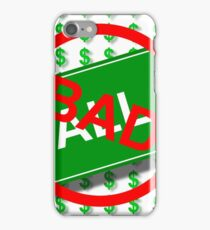 Wall Street Bad iPhone Case/Skin