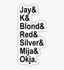 Okja, Mija & ALF squad Sticker