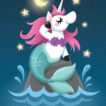 Unicorn Mermaid by taylorsmith03