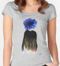 Chrysanthemum Women's Fitted Scoop T-Shirt