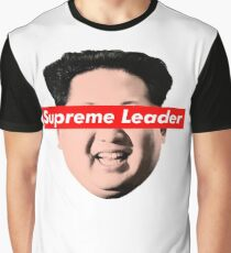 Supreme Leader Un - Kim Jong Un Parody T-Shirt Graphic T-Shirt