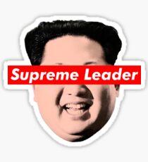 Supreme Leader Un - Kim Jong Un Parody T-Shirt Sticker