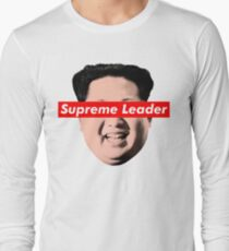 Supreme Leader Un - Kim Jong Un Parody T-Shirt Long Sleeve T-Shirt