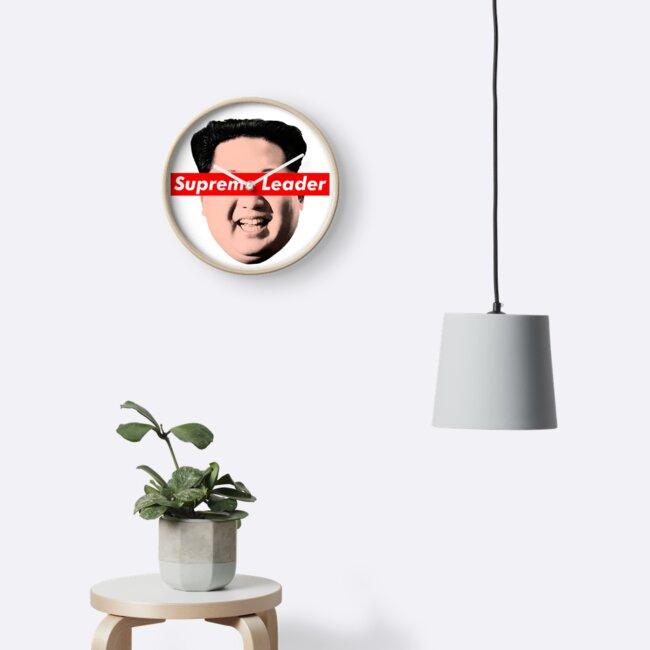 Oberste Führer Un - Kim Jong Un Parodie T-Shirt von William Harris